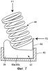 Демпфирующий вибрацию пружинный зажим для регулятора давления