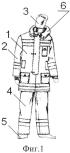 Костюм боевой одежды спасателя