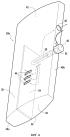 Устройство для измерения температуры в проточном канале первичного потока двухконтурного турбореактивного двигателя