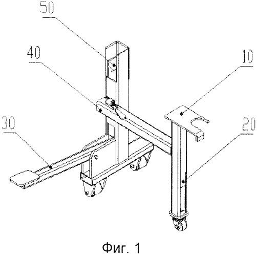 Устройство для установки заднего амортизатора автомобиля на сборочном конвейере и способ его применения