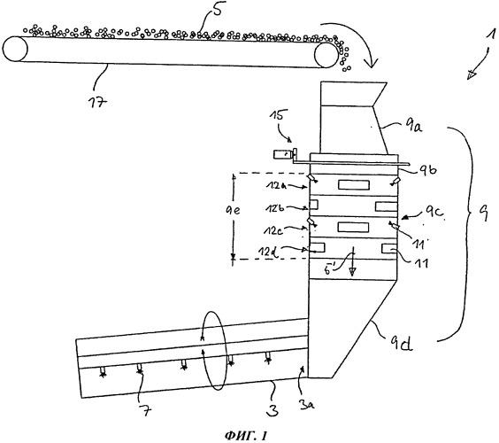 Способ и устройство для склеивания древесных частиц