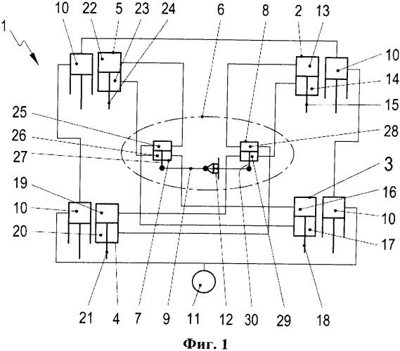 Устройство для компенсации движений кузова