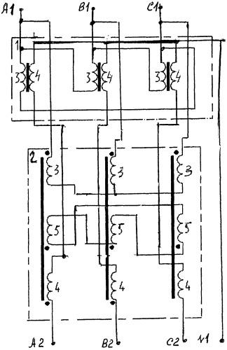 Трехфазный трансформаторный фильтр
