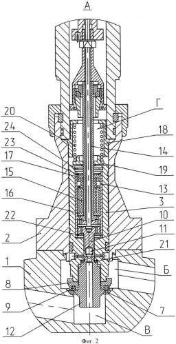 Клапан запорный электромагнитный