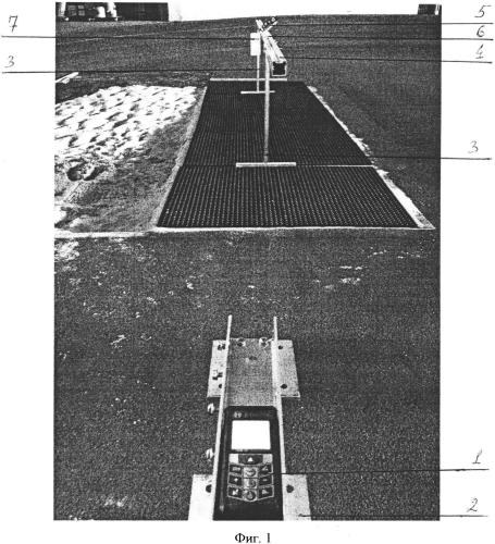 Устройство для измерения дальности горизонтальных прыжков в легкой атлетике
