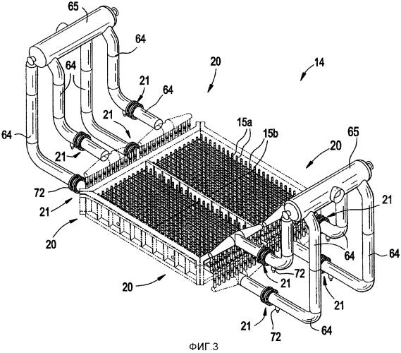 Сопловая решетка для сушилки и способ ее работы