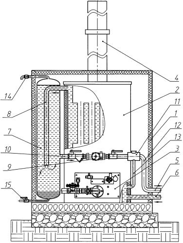 Модульный котел наружного размещения