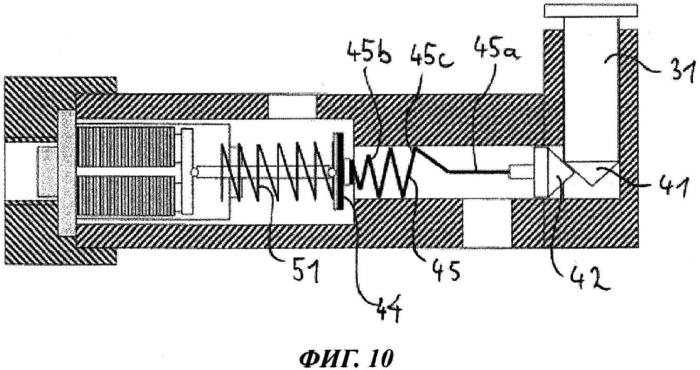 Газовый клапан с механизмом активации магнитного клапана