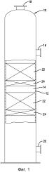 Устройство для сбора и распределения жидкости для колонны массопереноса и способ, включающий в себя такое устройство