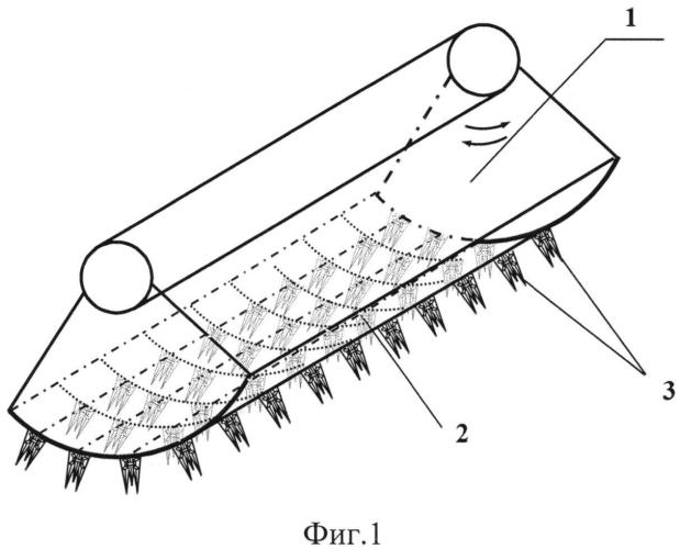 Гарнитура гребня питателя для переработки длинноволококнистых материалов