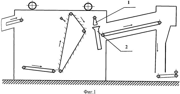 Устройство для расчесывания и очистки волокна от сорных примесей и пыли