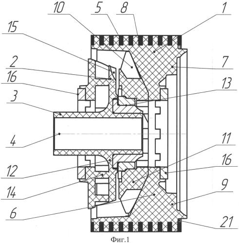 Ступень погружного многоступенчатого высокоскоростного центробежного насоса
