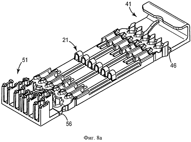 Модульная система крепления для волоконно-оптических кассет