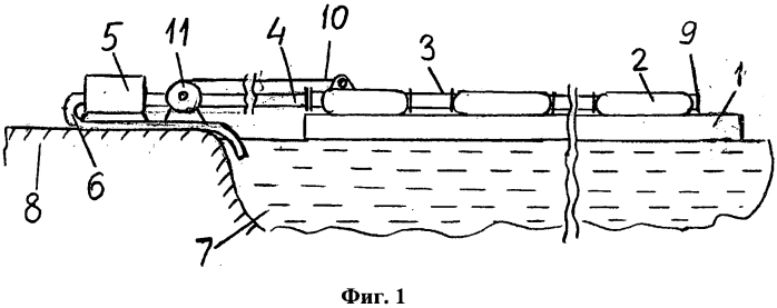 Способ укладки подводного трубопровода
