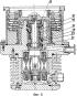 Однопоточный четырехступенчатый турбомолекулярный насос