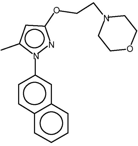 Полиморфы и сольваты гидрохлорида 4-[2-[[5-метил-1-(2-нафталинил)-1н-пиразол-3-ил]окси]этил]морфолина