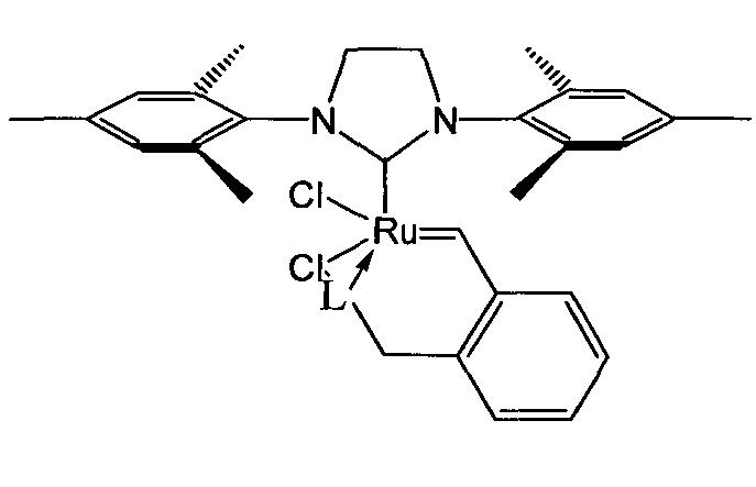 Рутениевый катализатор метатезисной полимеризации дициклопентадиена в форме катионного комплекса и способ его получения