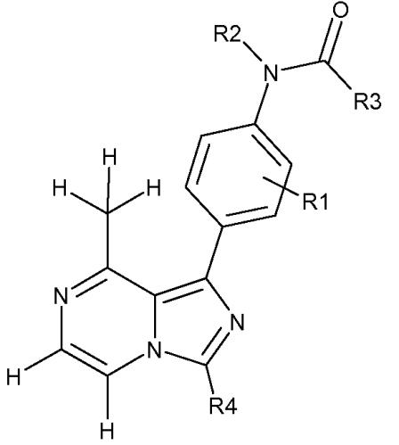 Соединения 8-метил-1-фенилимидазо[1, 5-а]пиразина