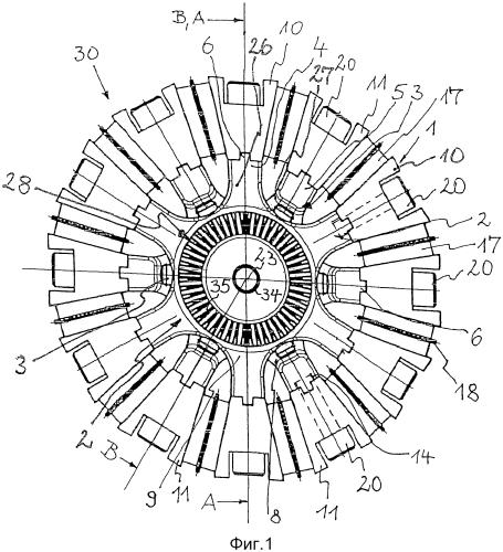 Муфта с соединительным кольцом на двух деталях муфты и примыкающим соединительным кольцом