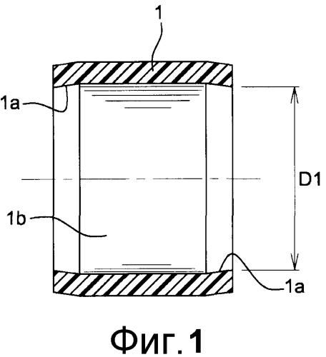Самосмазывающееся кольцо шарнирного соединения, предназначенное для установки на вал