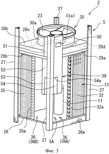 Наружный блок для устройства кондиционирования воздуха