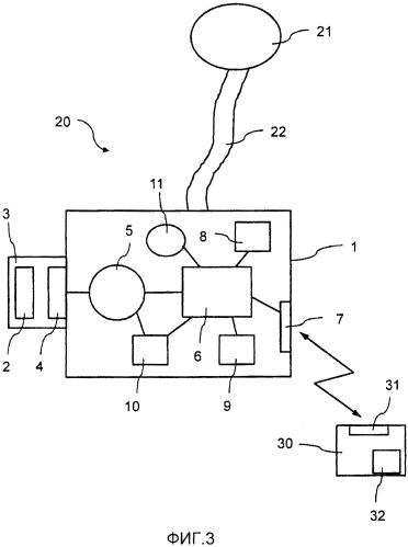 Система и способ для передачи данных и/или специфических для прибора параметров между фильтрующим прибором с подачей воздуха фильтрующей системы с подачей воздуха и вычислительным блоком
