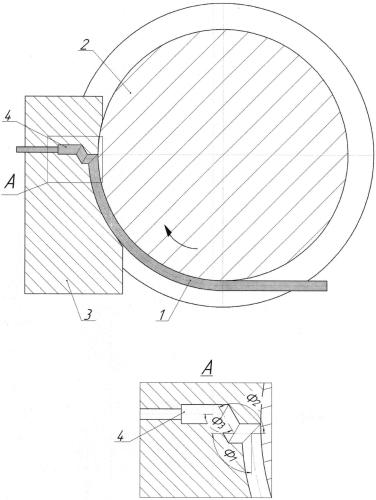 Способ непрерывного равноканального углового прессования металлических заготовок в виде прутка