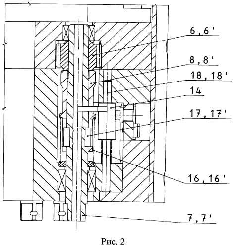 Устройство переключения блока передач гайковерта фланцевых соединений