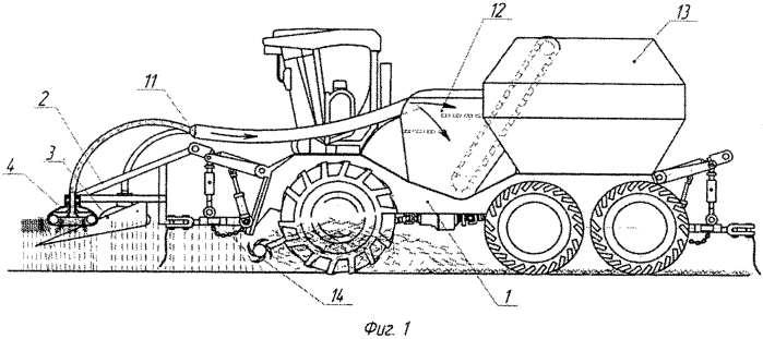 Способ уборки сельскохозяйственных культур на корню и устройство для его осуществления