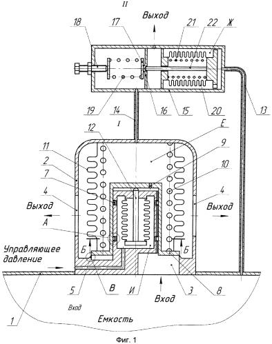 Динамически устойчивый дренажно-предохранительный клапан