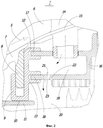 Статор турбины газотурбинного двигателя