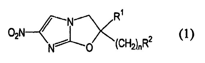 Противотуберкулезная композиция, содержащая соединения оксазола
