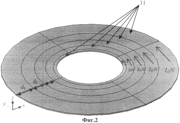 Способ увеличения добротности плоской спиральной катушки индуктивности