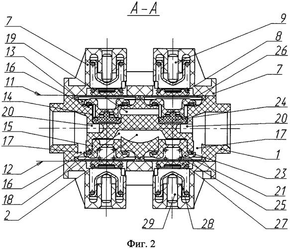 Четырехконтурное защитное клапанное устройство
