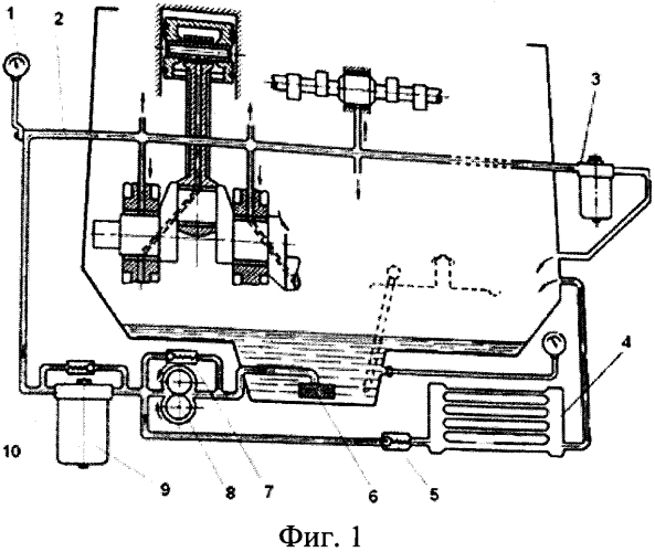 Способ безразборной диагностики степени износа подшипников двигателя внутреннего сгорания