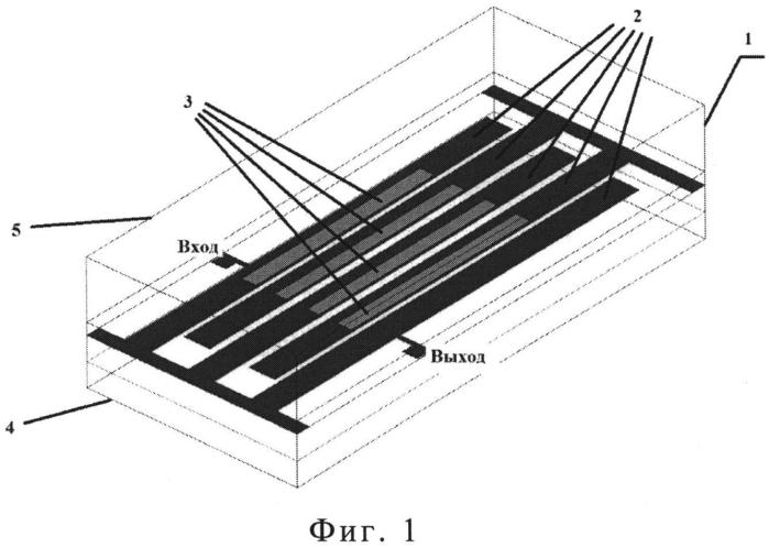 Полосковый фильтр свч с подавлением паразитных полос пропускания