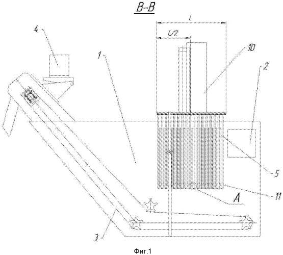 Намывной ламельный фильтр
