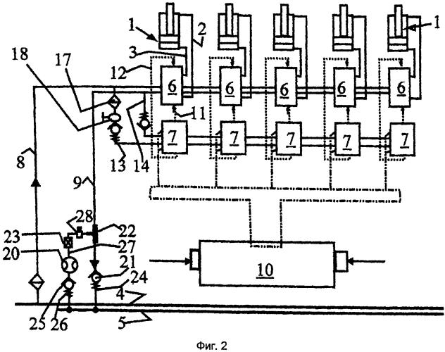 Устройство управления секцией механизированной крепи в очистном забое шахты