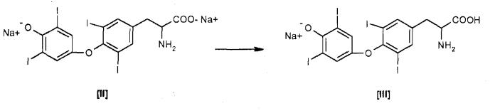 Способ получения гормонов щитовидной железы и их солей