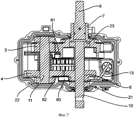 Коробка передач и механизированное сельскохозяйственное устройство