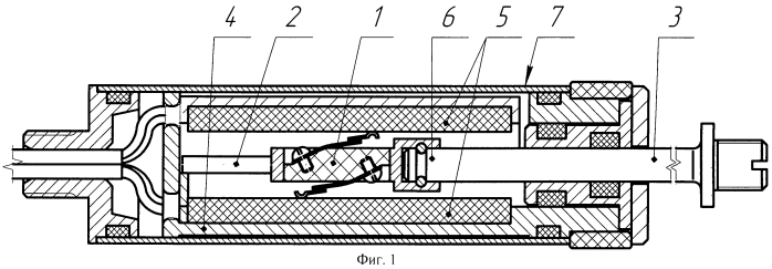 Потенциометрический датчик линейных перемещений