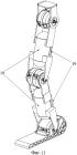 Шиберный поворотный пневмо (гидро) двигатель с раздельным корпусом и способ его сборки