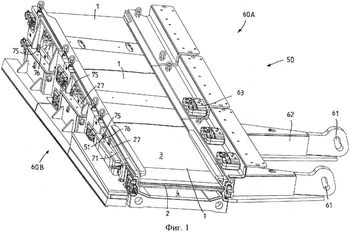 Соединительное устройство для рештака горнорудных выемочных устройств, рештак и крепежное приспособление для выемочных устройств