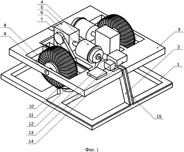 Стенд и способ исследования движения робокара