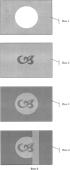 Многослойный композиционный элемент на основе бумаги и ценный документ, защищенный от подделки