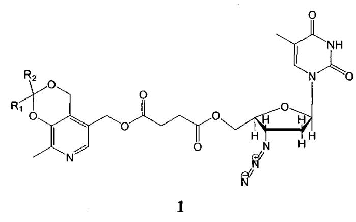 Антиретровирусные препараты на основе производных азидотимидина