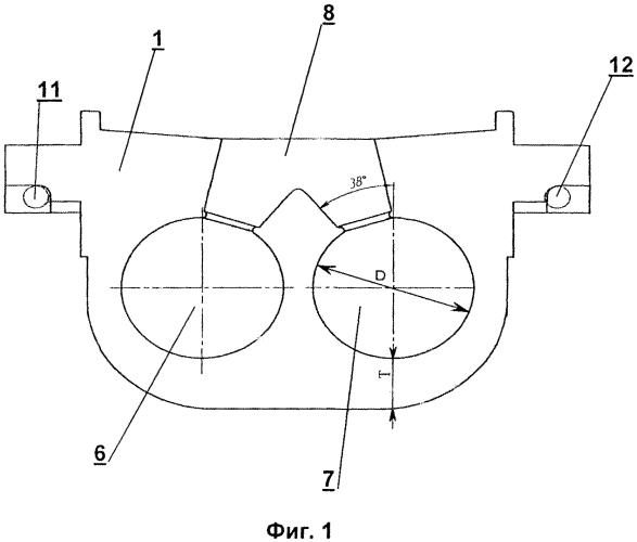 Разъемный кокиль для отливки мелющих шаров