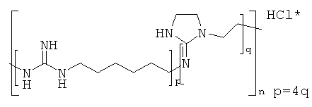 Полимеры или олигомерные активные агенты, обладающие биоцидным эффектом, способ их получения и композиция, содержащая полимерный или олигомерный активный агент