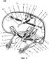 Устройство для поворачивания одной или более передних откидных крышек колейного транспортного средства и модуль передней откидной крышки