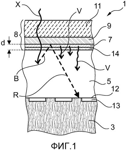 Детектор рентгеновского излучения с повышенными пространственной однородностью усиления и разрешением и способ изготовления детектора рентгеновского излучения